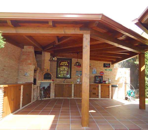 Porches y pergolas de madera ideas de disenos - Porches de madera en madrid ...